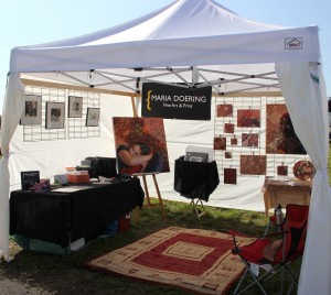 Avondale Art fair tent
